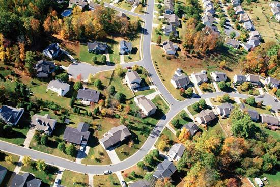 suburban community image